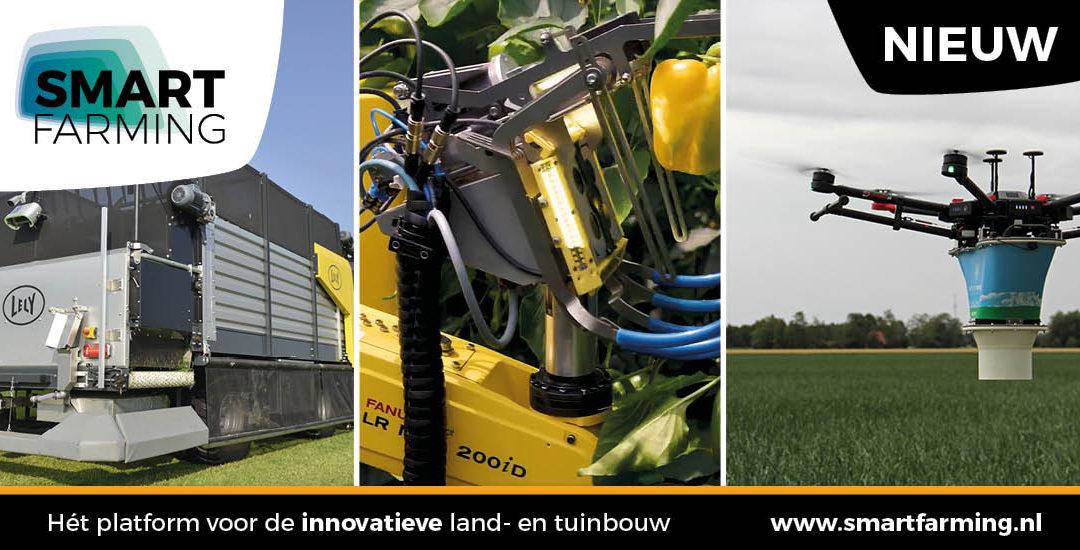Smartfarming.nl: hét platform voor de innovatieve land- en tuinbouw